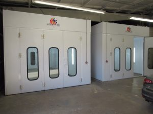 INDUSTRIAL PAINT BOOTHS: PRO SERIES PAINT & SPRAY APPLICATION BOOTHS