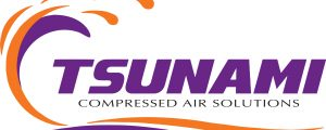 17-12-11 Tsunami Compressed Air Solutions LOGO PANTONE